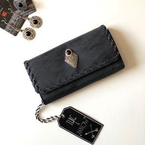 Handbags - Boho Charcoal Wallet